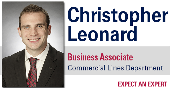 Christopher Leonard hired as Business Associate