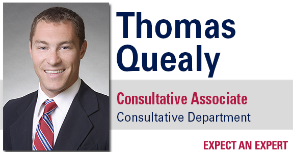 Thomas Quealy hired as Consultative Associate